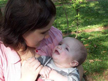 Namorando a mamãe