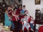 As crianças e o Papai Noel