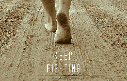 keep-fighting